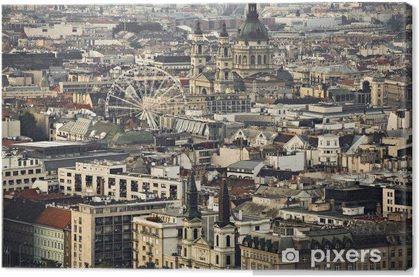 Obraz na płótnie Downtown Budapest - Europa