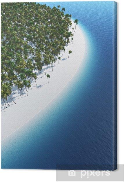 Obraz na płótnie Dream plaży z góry - Wakacje