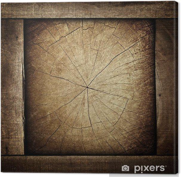 Obraz na płótnie Drewniane tle - Przemysł ciężki