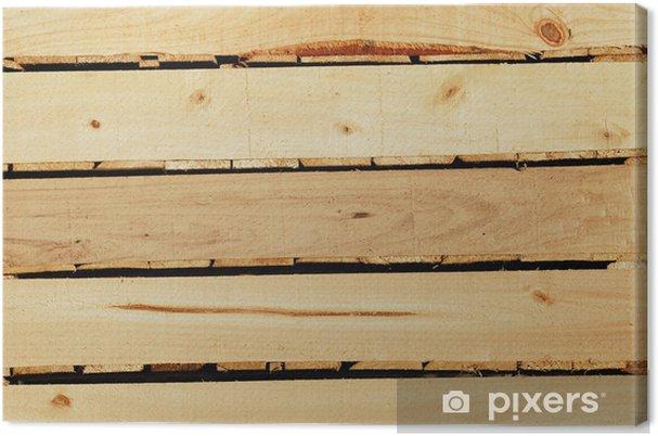 Obraz na płótnie Drewniany stojak - Rolnictwo