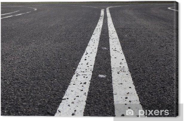 Obraz na płótnie Droga utwardzona - Tła