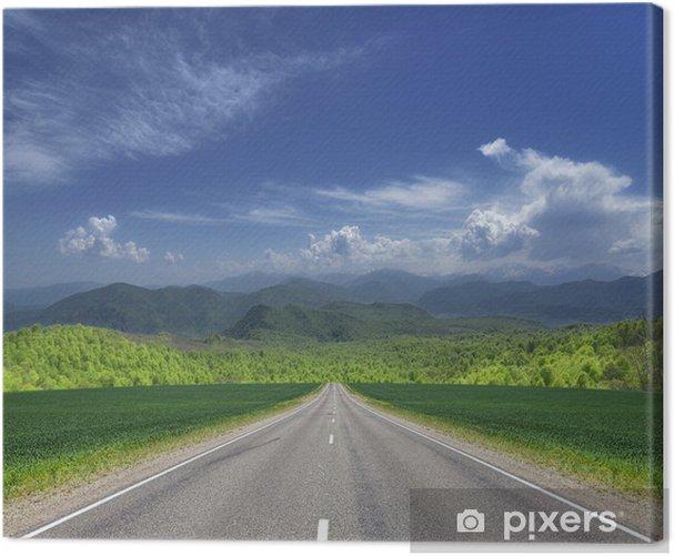 Obraz na płótnie Droga w góry - Tematy