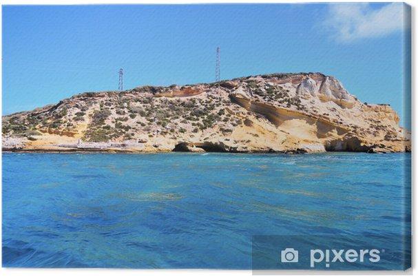 Obraz na płótnie Drżenia wyspy, włochy - Wakacje