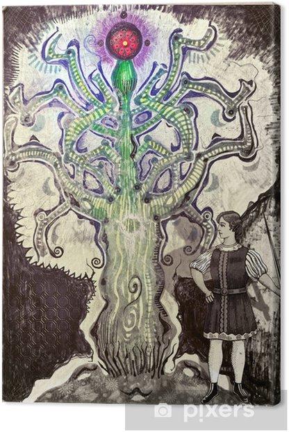 Obraz na płótnie Drzewo życia - Ezoteryka