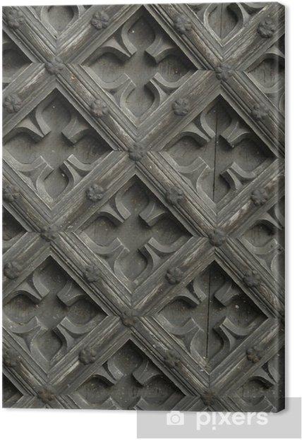 Obraz na płótnie Drzwi-2 - Tekstury