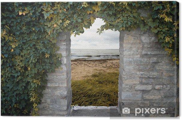Obraz na płótnie Drzwi do morza - Krajobraz wiejski
