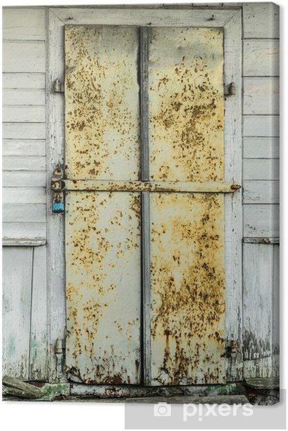Obraz na płótnie Drzwi - Budynki prywatne