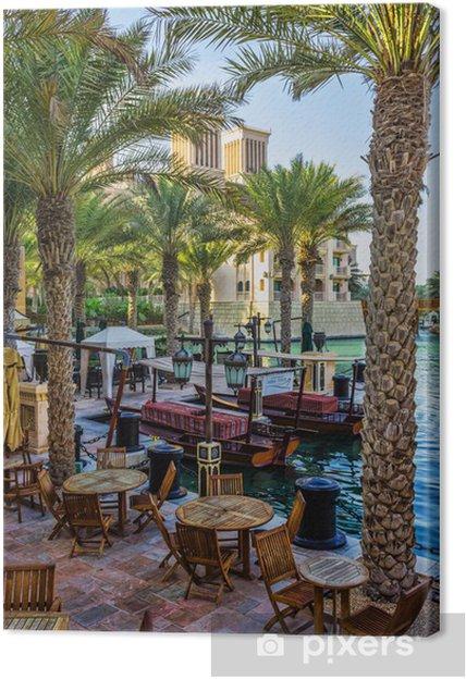 Obraz na płótnie DUBAI, Zjednoczone Emiraty Arabskie - 15 LISTOPADA: Widok Souk Madinat Jumeirah - Inne