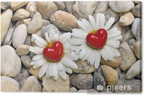 Obraz na płótnie Dwa kwiaty i czarownice - Szczęście