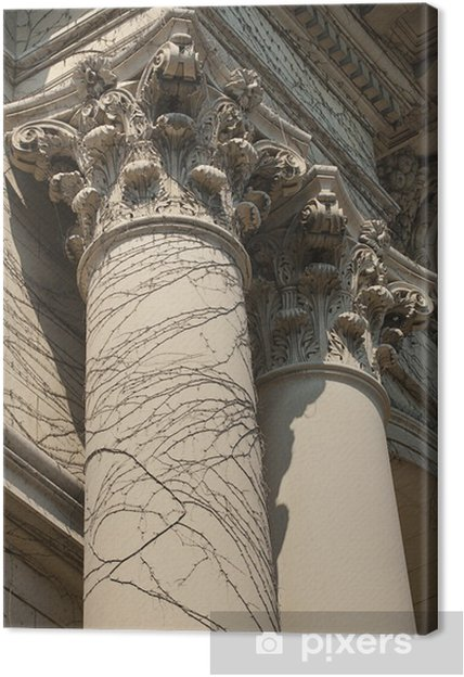 Obraz na płótnie Dwie kolumny korynckie - Życie