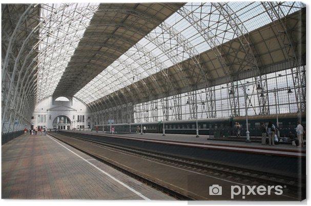Obraz na płótnie Dworzec kolejowy - Dworce kolejowe i metro