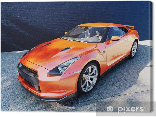 Obraz na płótnie Dynamiczny widok na nowoczesny samochód - Przeznaczenia