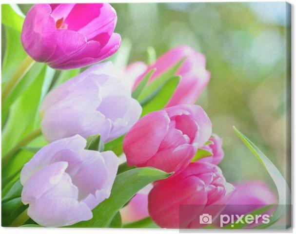 Obraz Na Płótnie Dzień Matki Urodziny Walentynki Pachnące Kwiaty