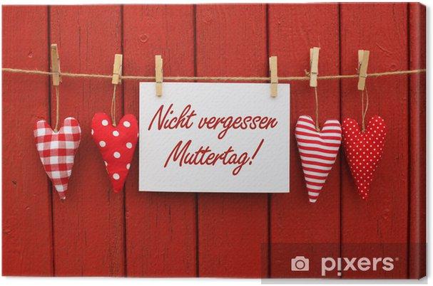 Obraz na płótnie Dzień Matki - Święta międzynarodowe