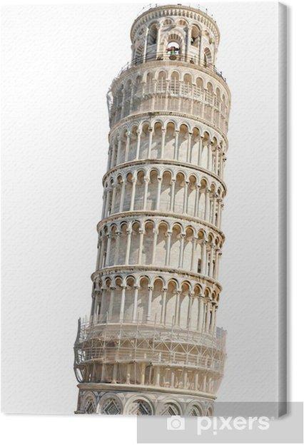 Obraz na płótnie Eaning wieża w Pizie, Włochy - Europa