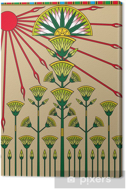 Obraz na płótnie Egipski papirus - Afryka