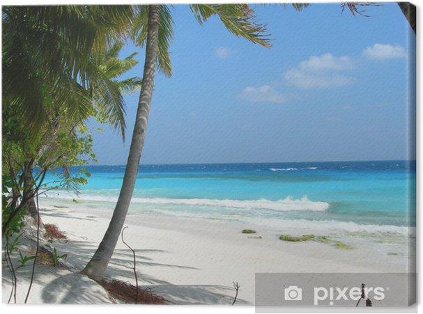 Obraz na płótnie Egzotyczne Malediwy - Woda