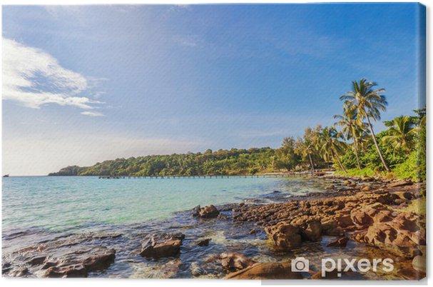 Obraz na płótnie Egzotycznych plaży tropikalnych. - Woda