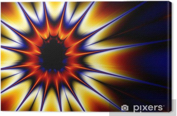 Obraz na płótnie Eksplozja (fractal30c) - Tła