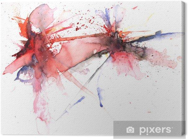 Obraz na płótnie Eksplozja kolorów - Sztuka i twórczość