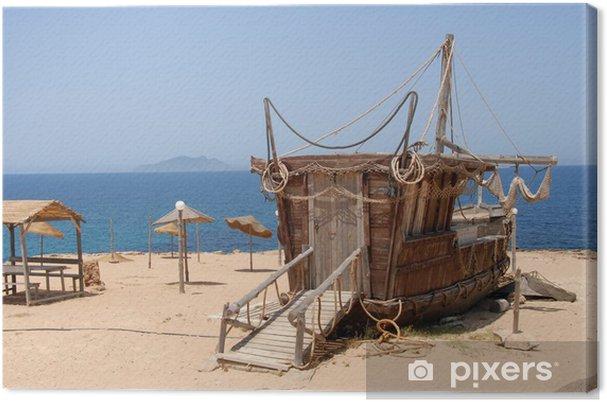 Obraz na płótnie El Haouaria Pirat Restauracja w brzegu - Afryka