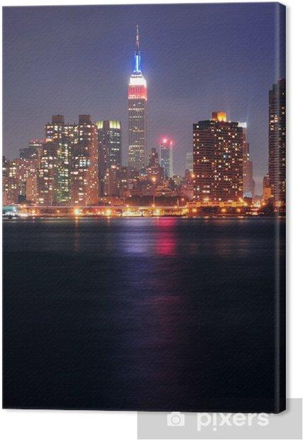 Obraz na płótnie Empire State Building w nocy - Tematy