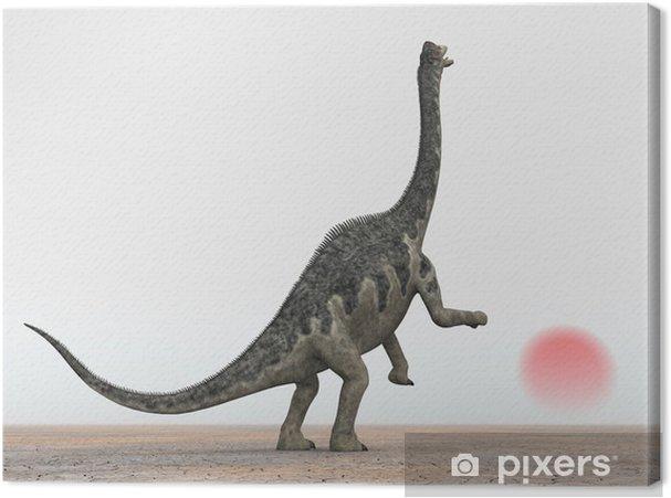 Obraz na płótnie Europasaurus - Inne Inne