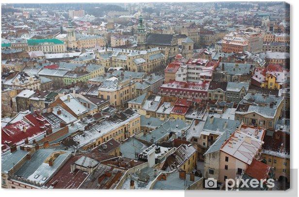 Obraz na płótnie Europejskie miasto - Europa