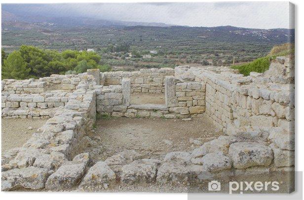 Obraz na płótnie Fajstos i Festos, starożytne miasto na Krecie - Europa