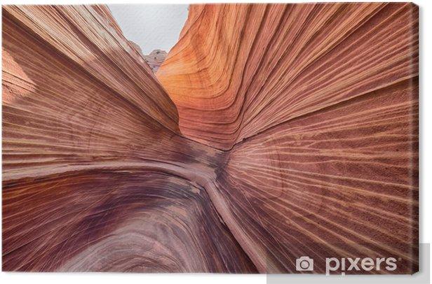 Obraz na płótnie Fala, Coyote Buttes - Krajobrazy