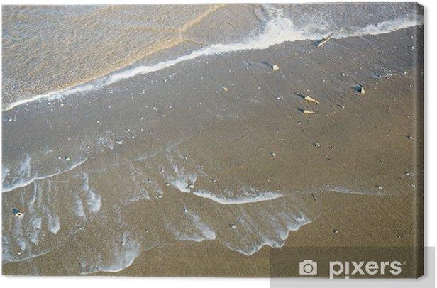Obraz na płótnie Fala na plaży - Wakacje