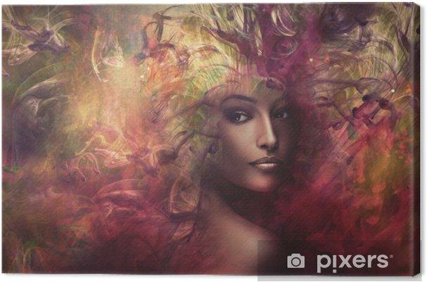 Obraz na płótnie Fantastyczna kobieta kompozytowa - Ludzie