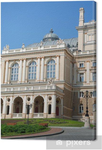 Obraz Na Plotnie Fasada Budynku Opery W Odessie Ukraina Pixers