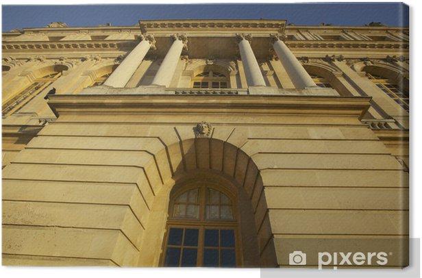 Obraz na płótnie Fasada pałacu w Wersalu - Wakacje