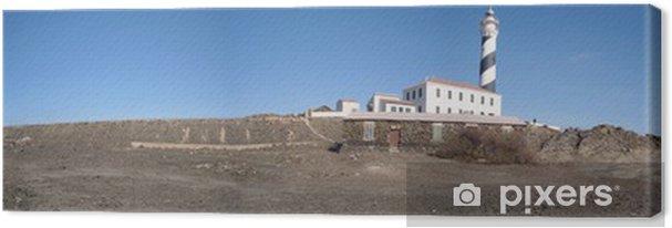 Obraz na płótnie Favaritx latarnia Baleary Menorca - Europa