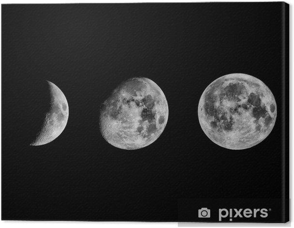 Obraz na płótnie Fazami księżyca - iStaging