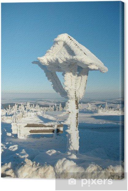 Obraz na płótnie Fichtelberg w zimie - Wakacje