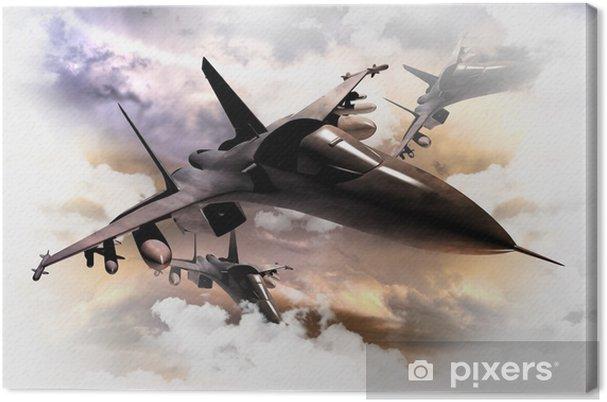Obraz na płótnie Fighter Jets w akcji - Tematy
