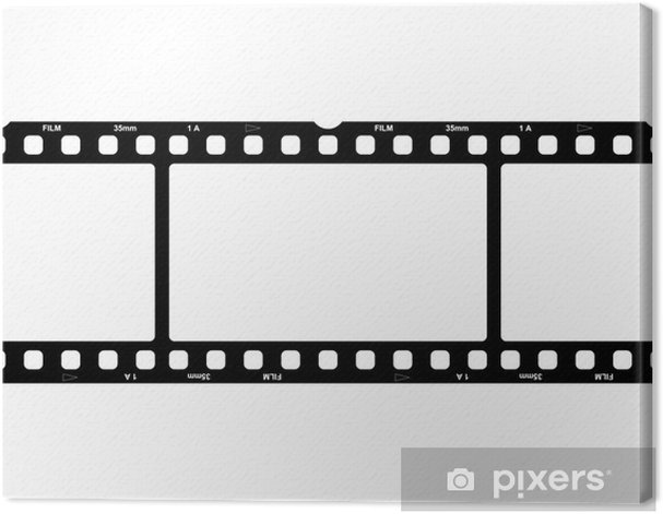 Obraz na płótnie Film, Foto, Streifen, Ramki - Sztuka i twórczość