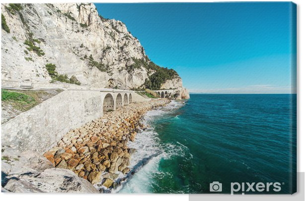 Obraz na płótnie Finale Ligure, nad morzem, Włochy - Europa