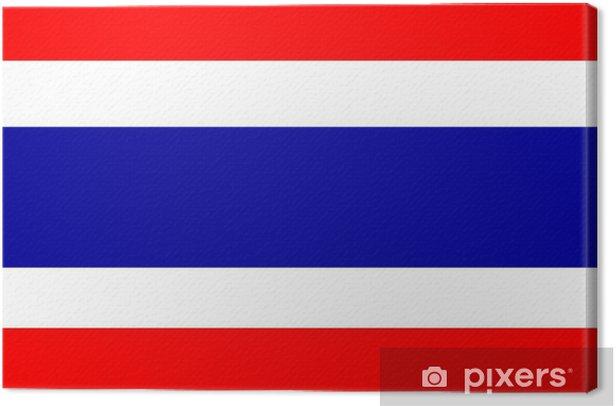 Obraz na płótnie Flaga Tajlandii - Azja