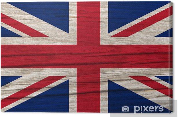 Obraz na płótnie Flaga Wielkiej Brytanii - Europa