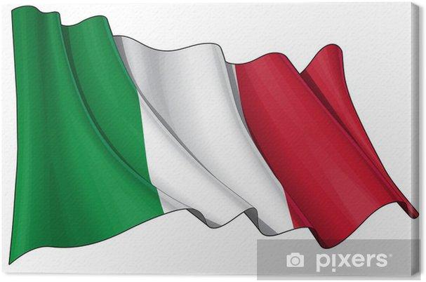 Obraz na płótnie Flaga Włoch - Tła