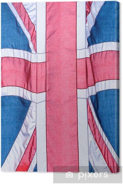 Obraz na płótnie Flagi Union Jack - Miasta europejskie