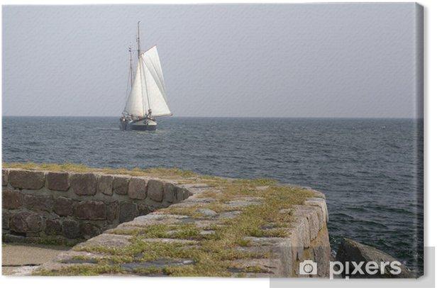 Obraz na płótnie Flatboat - Sporty wodne