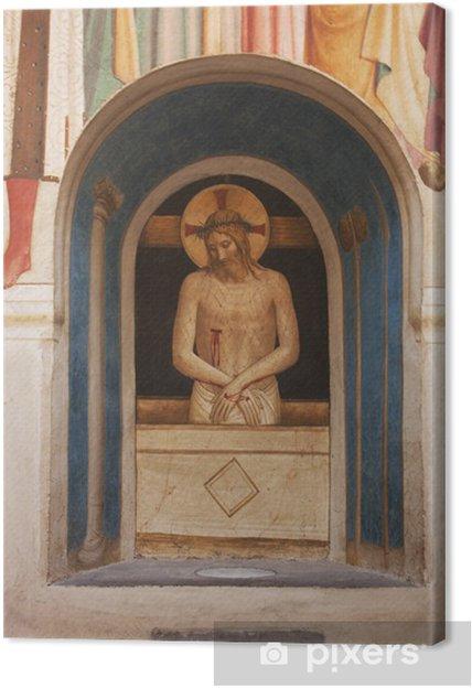 Obraz na płótnie Florence - Klasztor San Marco (fresk Fra Angelico) - Europa