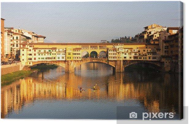 Obraz na płótnie Florencja - Ponte Vecchio - Europa