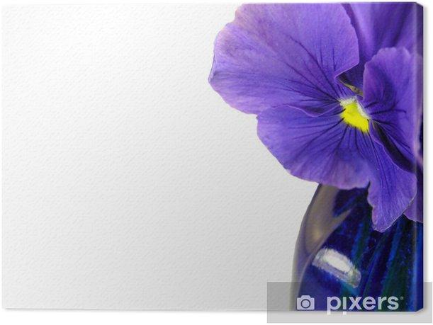 Obraz na płótnie Fokus kwiat - Kwiaty
