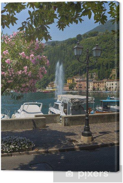 Obraz na płótnie Fontana Manerba Del Garda - Wakacje