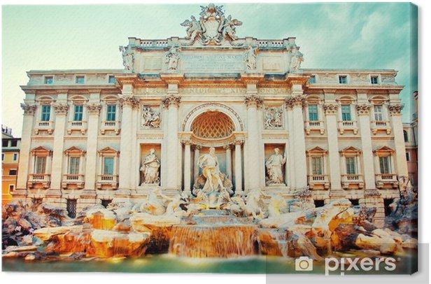 Obraz na płótnie Fontanna de Trevi, Rzym - Tematy
